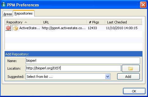module d'installation xml parser perl
